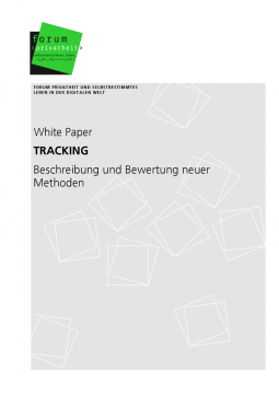 """White Paper """"Tracking"""""""
