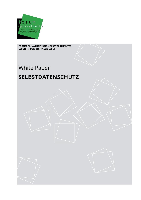 White Paper Selbstdatenschutz